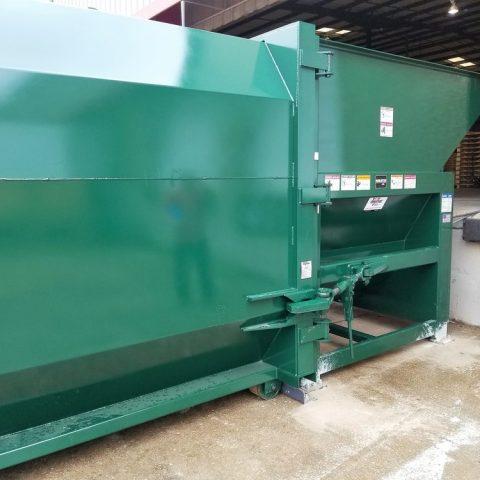 Marathon AST 320 Auger Compactor Green