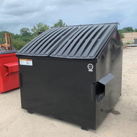 PLUM 8 Cu Yd Slant Dumpster