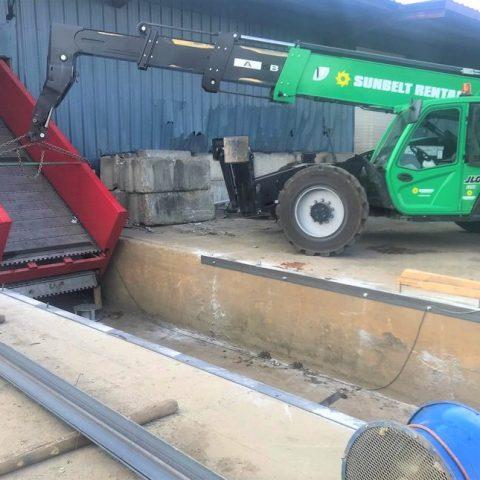 PLUM Equipment - Conveyor Installation