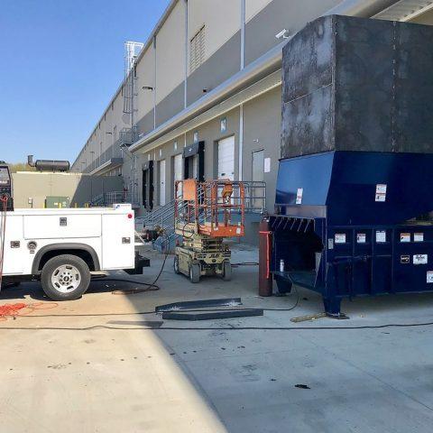Plum Equipment - Compactor Installation